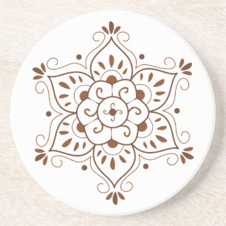 Henna Mandala Coster Drink Coasters