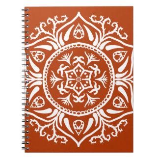 Henna Mandala Notebook
