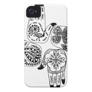 Henna Mehndi Hands Indian Designs Painted Wedding iPhone 4 Case