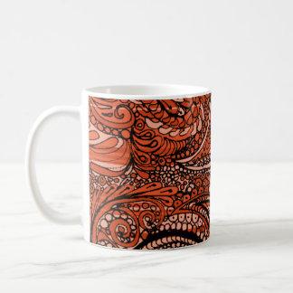 Henna Paisley Coffee Mug