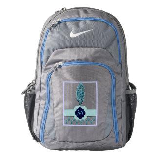 Henna Peacock (Blue) Backpack