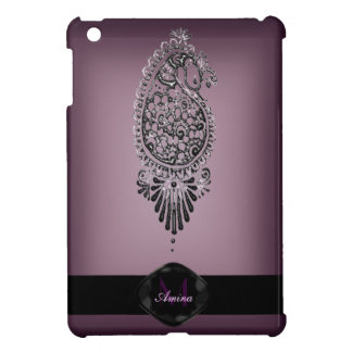 Henna Peacock iPad Mini Cover