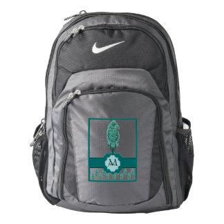 Henna Peacock (Turquoise) Nike Backpack