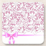 henna*Pink*Lace Drink Coasters