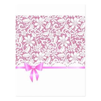 henna*Pink*Lace Tarjetas Postales