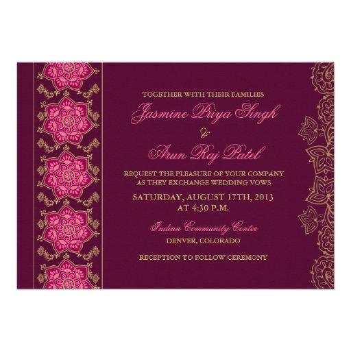 personalized henna invitations custominvitations4u