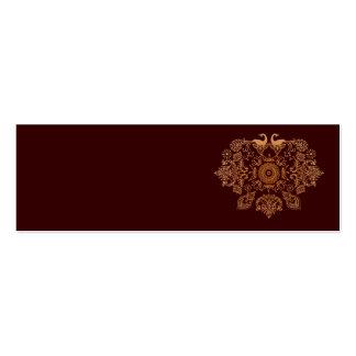 Henna Rock Profile Cards Business Card Template