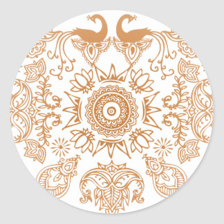 Henna Rock Stickers
