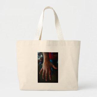 henna tatto canvas bag