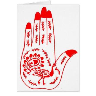 Henna Tattoo Hands Cards