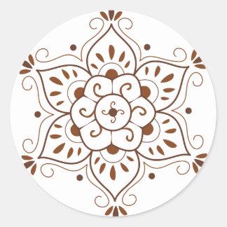 Henna Tattoo Mondala Stickers