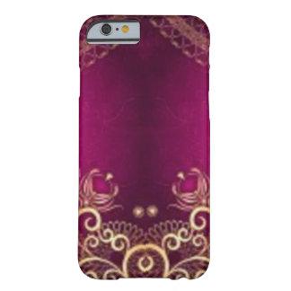 *Henna-vintage-purple- Funda De iPhone 6 Barely There