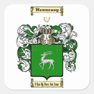 Hennessy Square Sticker