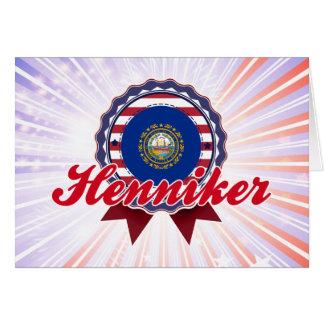 Henniker, NH Tarjeta De Felicitación