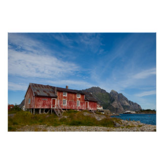 Henningsvær - Lofoten - Norway Posters
