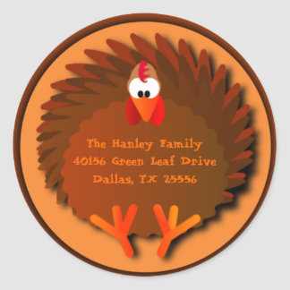Henny Thanksgiving Address Label