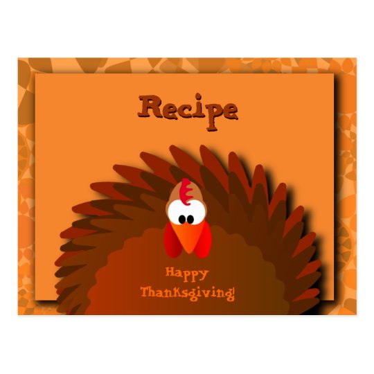 Henny Thanksgiving Recipe Card