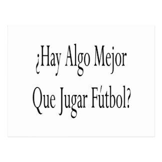 Heno Algo Mejor Que Jugar Futbol Postal