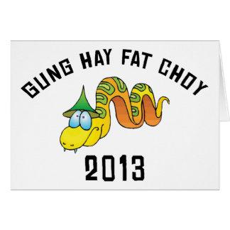 Heno Choy gordo 2013 de Gung Felicitaciones
