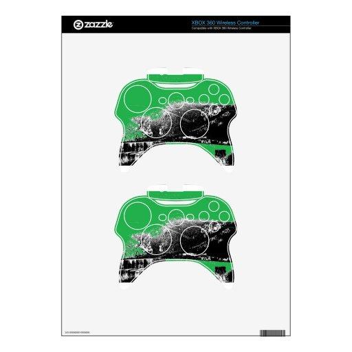 Heno con verde mando xbox 360 skin