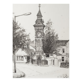 Heno de la torre de reloj en la horqueta 2007 tarjeta postal