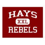 Heno - rebeldes - High School secundaria del heno  Postal