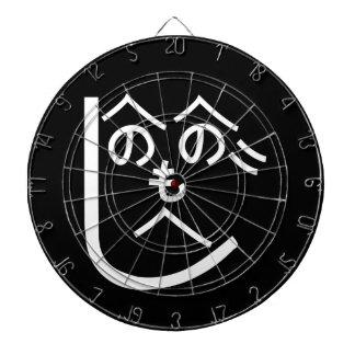 Henohenomoheji へのへのもへじ dartboard