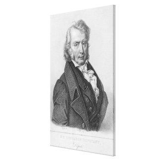 Henri Benjamin Constant de Rebecque  as Deputy Canvas Prints