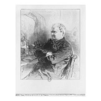 Henri Bonaventure Monnier Postcard