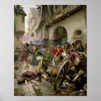 Henri de La Rochejaquelein  at Battle of Poster