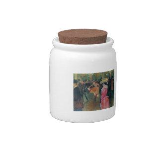 Henri de -Lautrec- At the Rouge, The Dance Candy Jars