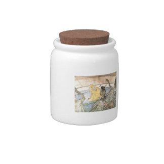Henri de -Lautrec: The Ballet Papa Chrysanthemem Candy Dish