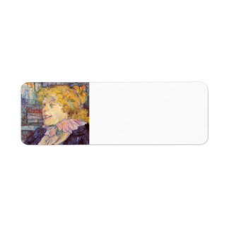 Henri de Lautrec- The Lady of the Star Harbour Custom Return Address Labels