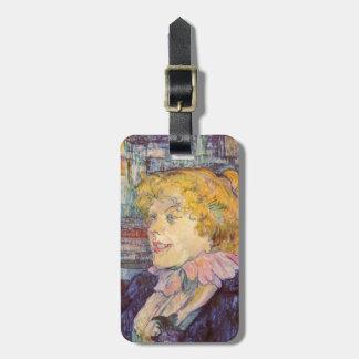 Henri de Lautrec- The Lady of the Star Harbour Bag Tag