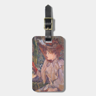 Henri de Lautrec- Woman with Gloves Tags For Bags