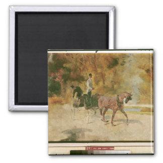 Henri de Toulouse-Lautrec   A Dog-Cart Magnet