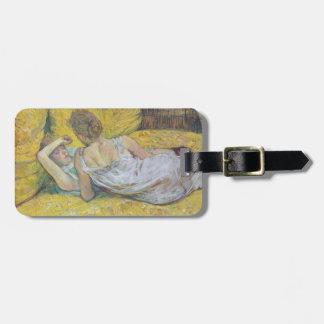 Henri de Toulouse-Lautrec- Abandonment (The pair) Travel Bag Tag
