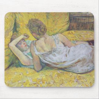 Henri de Toulouse-Lautrec- Abandonment (The pair) Mouse Pad