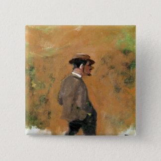 Henri de Toulouse-Lautrec  aged 19, 1883 Pinback Button