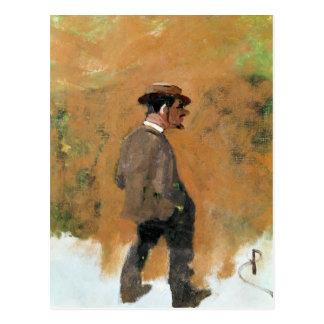 Henri de Toulouse-Lautrec  aged 19, 1883 Postcard