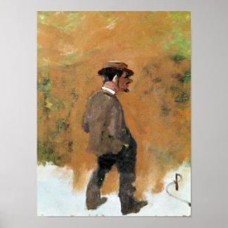 Henri de Toulouse-Lautrec  aged 19, 1883 Poster