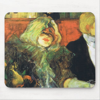 Henri de Toulouse-Lautrec- At the Rat Mort Mouse Pad