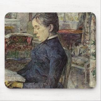 Henri de Toulouse-Lautrec- Comtesse Mouse Pad