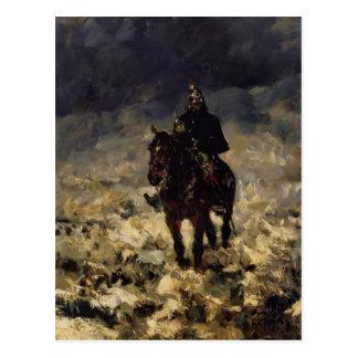 Henri de Toulouse-Lautrec- Cuirassier Post Card