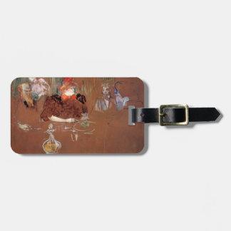 Henri de Toulouse-Lautrec- Dinner Bag Tags