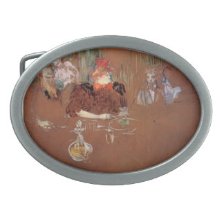 Henri de Toulouse-Lautrec- Dinner Oval Belt Buckle