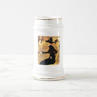 Henri de Toulouse-Lautrec -  Divan Japonais 18 Oz Beer Stein