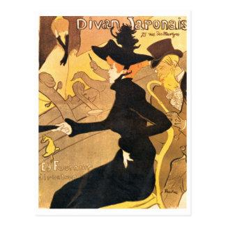 Henri de Toulouse-Lautrec -  Divan Japonais Postcard