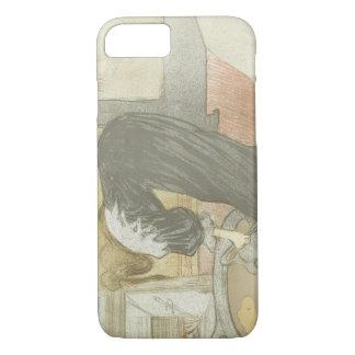 Henri de Toulouse-Lautrec - Elles-Woman at the Tub iPhone 8/7 Case