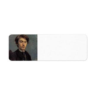 Henri de Toulouse-Lautrec- Emile Bernard Return Address Labels